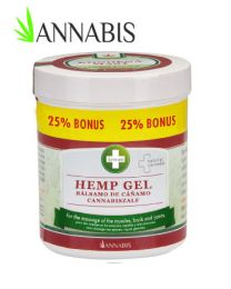 Hemp gel -375ml Annabis
