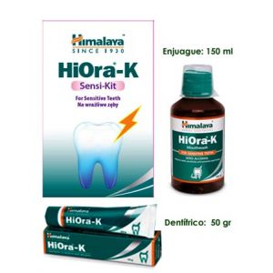 Kit Dientes Sensibles HiOra -K    Dentifrico & Enjuague